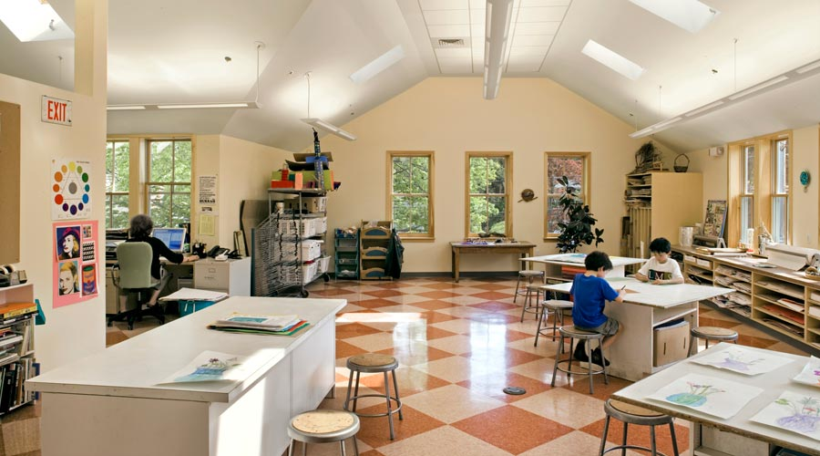 Dermady Architects Independent School Awesome Interior Design Schools Massachusetts